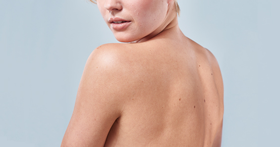 Haut Behandlung Blaustein