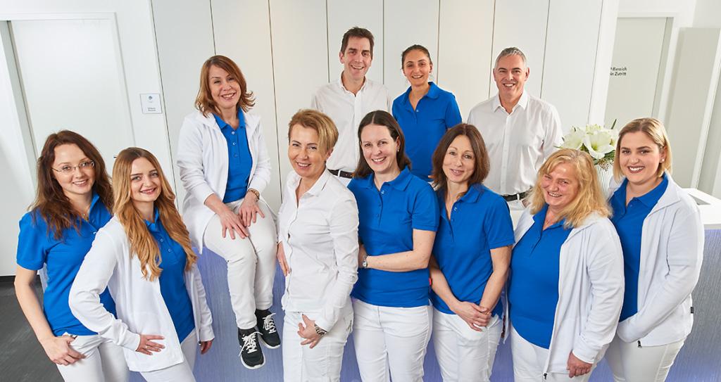 Mitarbeiter der Praxis HautVenen Blaustein